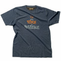 TIP Tee shirt de travail 100% coton marine