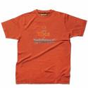 TIP Tee shirt de travail 100% coton tomate
