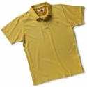 POISE Polo de travail manches courtes 100% Coton jaune