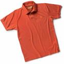 POISE Polo de travail manches courtes 100% Coton rouge
