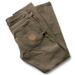 PRESS Pantalon de travail stretch marron