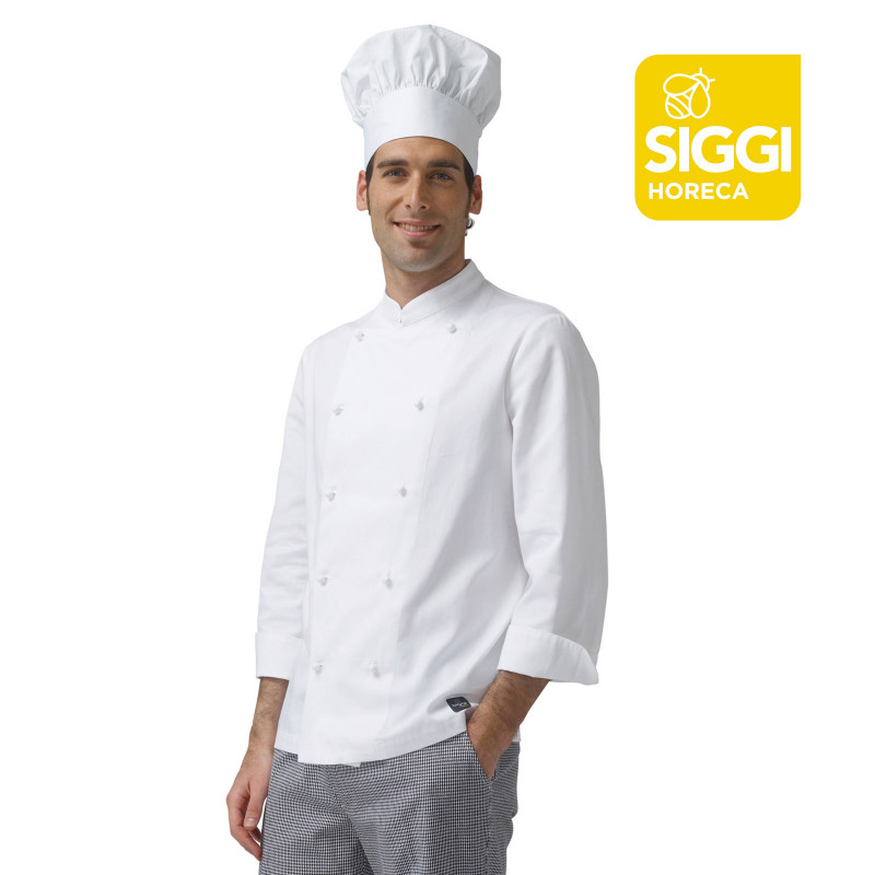 ARTUR Veste de cuisine manches longues 100% coton