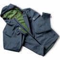 ICY Veste de travail extérieur imperméable 100% polyester marine