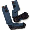 COVER Chaussettes de travail hautes stimulation magnétique marine