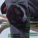 COVER Chaussettes de travail hautes stimulation magnétique