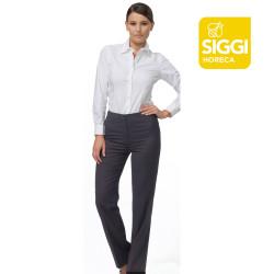 ALISSA Pantalon de service femme gris