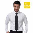 ALVIN Cravate de service gris