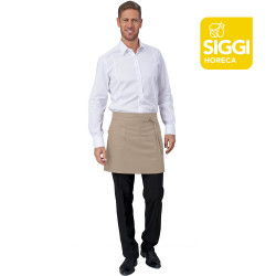 PALERMO Tablier de serveur mixte polyester beige