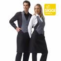 BOLOGNA Tablier bavette mixte polyester noir gris