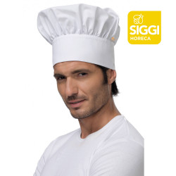 DEAN Toque de chef blanc