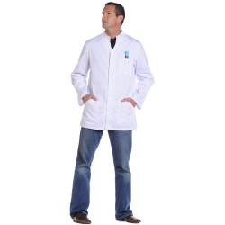 3604eb88299 ALONSO Tunique-veste médicale homme manches longues réglables