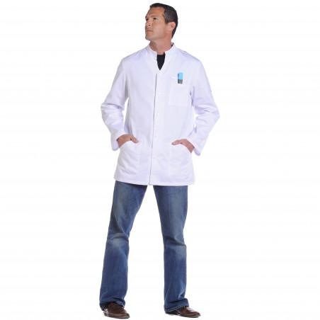 ALONSO Tunique-veste médicale homme manches longues réglables