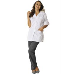 PENELOPE Tunique medicale femme blanc