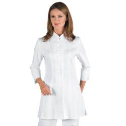SIVIGLIA Tunique esthétique manches longues blanc