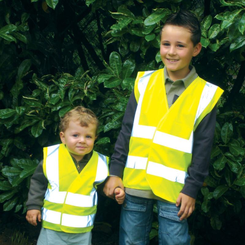 Yard gilet jaune enfant 4-14 ans LIVRAISON 24/48H