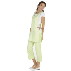 LILLY Chasuble de travail femme anis