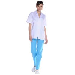 PATRICK Pantalon médical mixte couleur azur