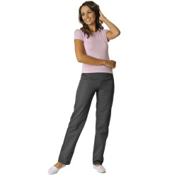 VICTOR Pantalon médical Femme ventre plat anthracite