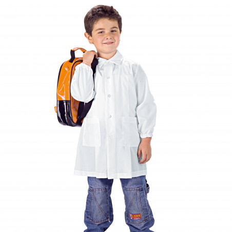 POLLICINO Blouse blanche enfant mixte 3-11 ans