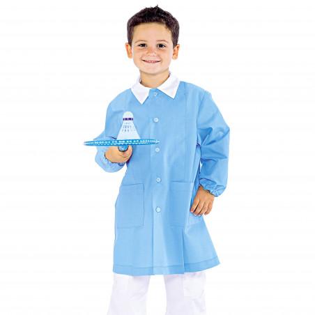 POLLICINO Blouse bleue enfant mixte 3-6 ans