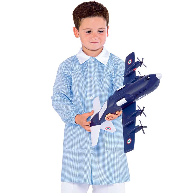 POLLICINO Blouse enfant mixte 3-6 ans vichy bleu