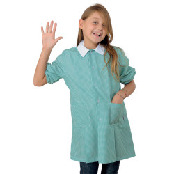 POLLICINO Blouse enfant mixte 3-6 ans quadrillée Verte