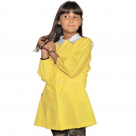 POLLICINO Blouse jaune enfant mixte 3-6 ans