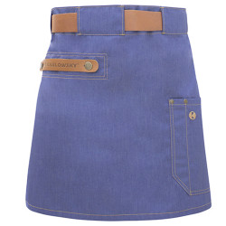 ARIZONA Tablier de service en jeans denim bleu