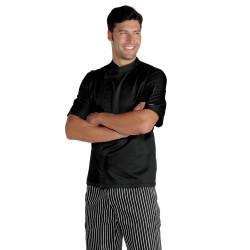 SUZUKA Veste de cuisinier antitaches à manches courtes