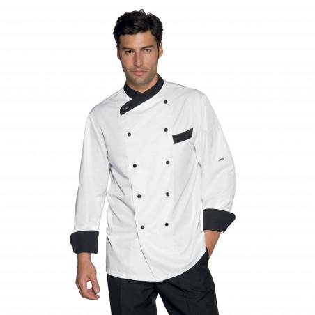 CUOCO GIZA Veste de cuisine légère antitaches homme
