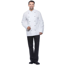 MAURICE Veste de cuisine manches longues en coton