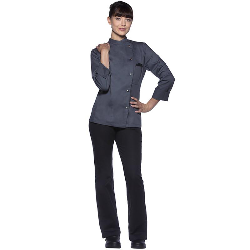 917e5de6992 Veste cuisine pour femme LARISSA - BGA Vêtements