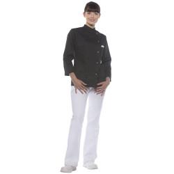 LARISSA Veste de cuisine femme manches longues