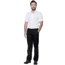 KASPAR Pantalon de cuisine élastiqué