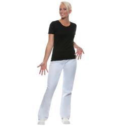 BARCELONA Pantalon de cuisine femme taille élastique