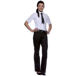 JULI Chemisier de service femme manches courtes stretch