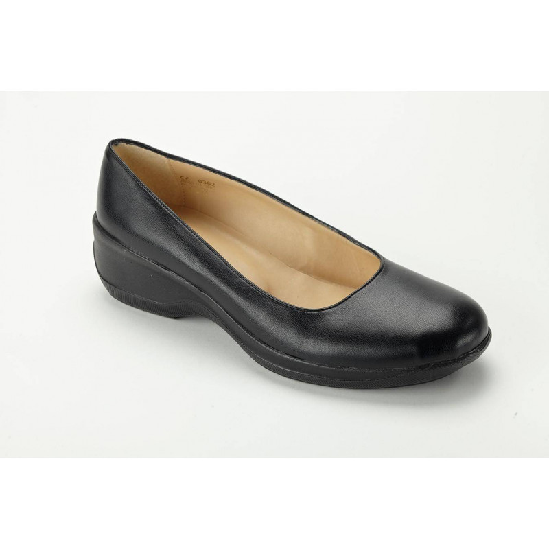 CAROLINE chaussure de service Ballerines cuir basse NORDWAYS