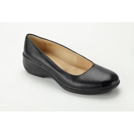 CAROLINE chaussure de service Ballerines cuir basse