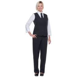 BASIC Gilet de service femme en polyester