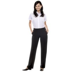 BASIC Pantalon de service femme en polyester