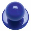 BASILE lot de 12 boutons pour veste de cuisine bleu
