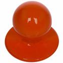 BASILE lot de 12 boutons pour veste de cuisine rouge