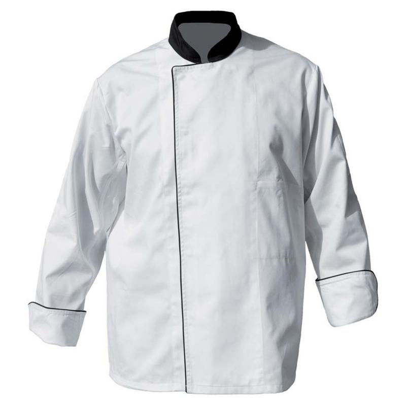 Veste de cuisinier polycoton à pressions DENIS