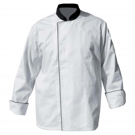 DENIS Veste de cuisinier polycoton à pressions
