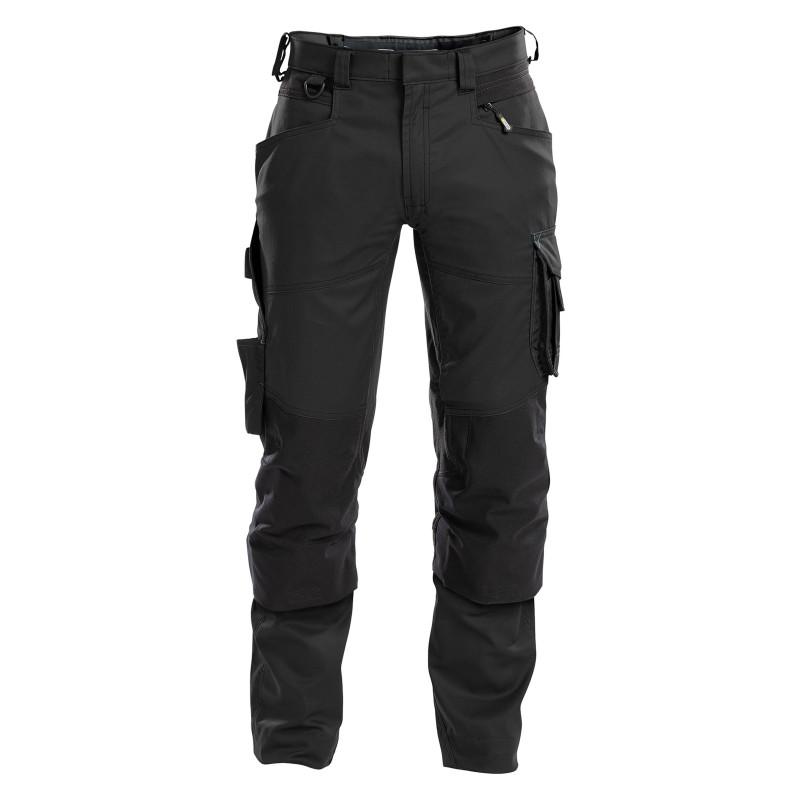 DYNAX Pantalon de travail stretch avec poches genoux