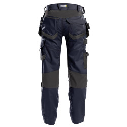 FLUX Pantalon de travail multipoches stretch