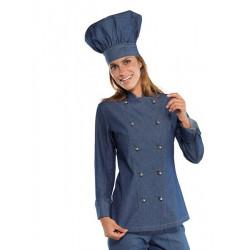 LADY JEAN Veste De Cuisine Femme Manches longues