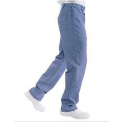 Cuoco Blu Pantalon De Cuisine Bleu