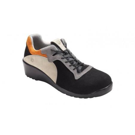 JULIE Chaussure de sécurite femme cuir S3 basse NORDWAYS DESTOCKEES