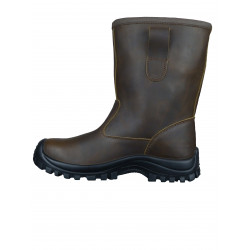 Bottes Securite Fourrees Bfm Marron S3 Src Cl